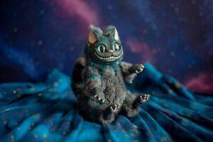 acampar Es latín  Em Estoque! Pequeno Gato de Cheshire Boneca Arte De Tim Burton um de um  tipo Articulado Brinquedo | eBay