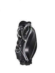 2018 NEW TITLEIST Caddy Bag Stylish CB813 9.5 inch Men's CB813-BKSV Black Silver