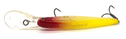 RAIDEN DEEP ZANDER 90 FLOATING 90F NATURAL SERIES FISHING CRANK BAIT LURE