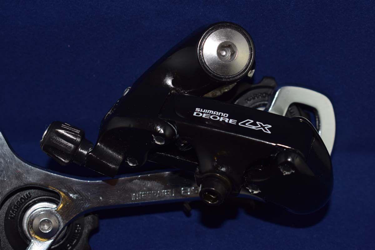 Shimano DEORE LX RD-M565 Desviador Trasero 8 Velocidades Negro Vintage nuevo viejo Stock