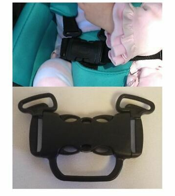 CHICCO Bravo Stroller 5 Point Buckle Harness Clip Straps Replacement Parts NEW