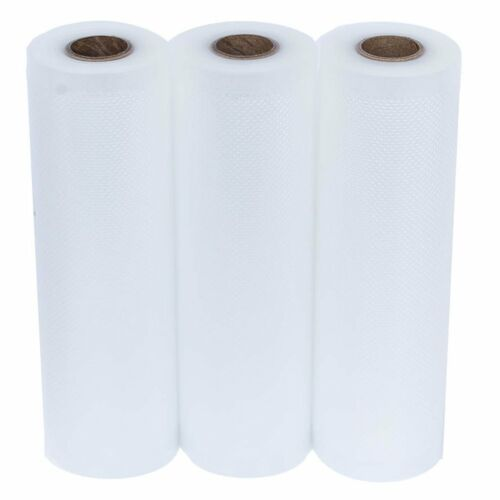 3 Roll Pack Vacuum Sealer Vac Bags 8 x 20' Rolls for Food Saver Seal a Meal