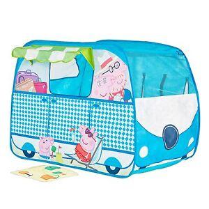 Peppa-pig-Campervan-Surgissant-Role-Jouer-Tente-Enfants-Amusant-Indoor-Exterieur