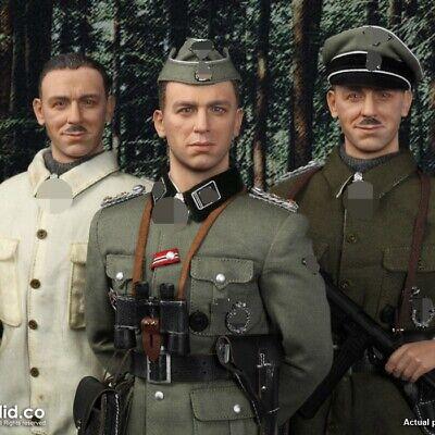 """DID D80137 1//6 Scale SS Obersturmbannführer Kurt Meyer 12/"""" Figure Crusher Cap"""
