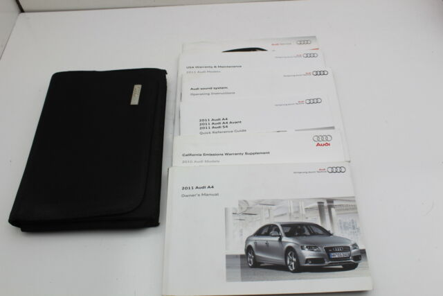 buy audi owners manual
