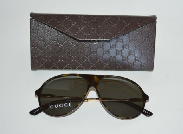 b8bd4a47ad Gucci GG Made in Italy Aviator Sunglasses for sale online