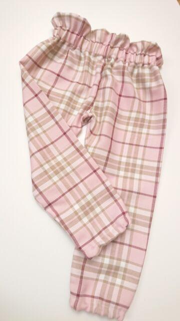 Tartan Pantalon Filles Bébé vêtements fait main