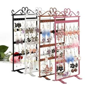 48//72 Hole Earring Ear Stud Jewelry Showcase Stand Holder Organizer Display Rack