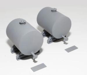 Knightwing-PM141-OO-Gauge-55mm-Storage-Tank-Pair-Plastic-Kit