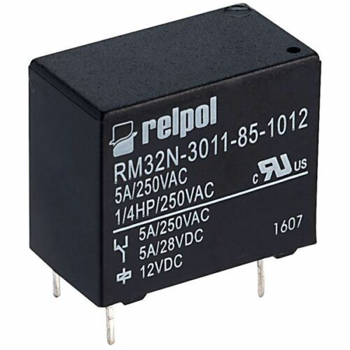 RELPOL inverseurs miniature relais 12 V 5 A PCB RM32N-3011-85-1012 RELPOL