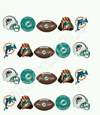 NFL Miami Dolphins Nail art water decals Free shipping!!