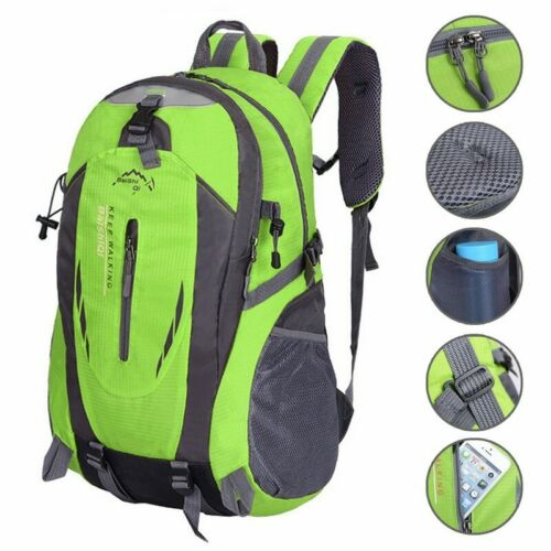 Backpack Laptop Waterproof Bag Men School Usb Travel Rucksack Port Anti Theft