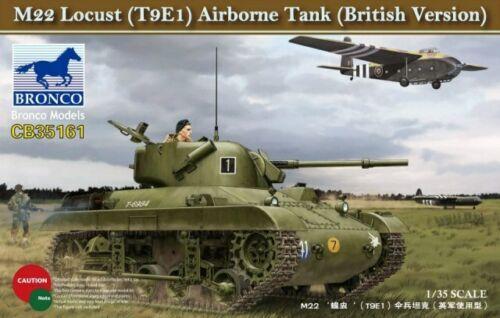 British Version Airborne Tank - Neu T9E1 Bronco Cb35161-1//35 M22 Lucust