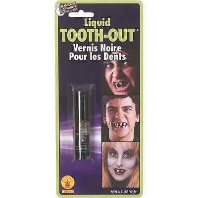 Liquid Tooth Out Black Witch Hobo Fancy Dress Halloween Costume Accessory