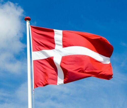 90*150//3x5Ft Danish Country Large Flag Feet Polyester Denmark National Banner TP