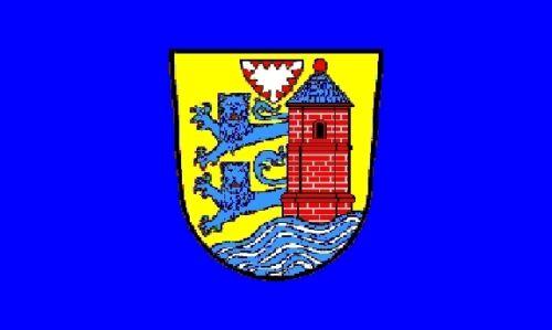 Fahne Flagge Flensburg 30 x 45 cm Bootsflagge Premiumqualität