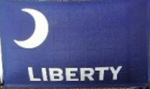 Liberty Fort Moultrie Flag Banner Sign 3/' x 5/' Foot Polyester Grommets