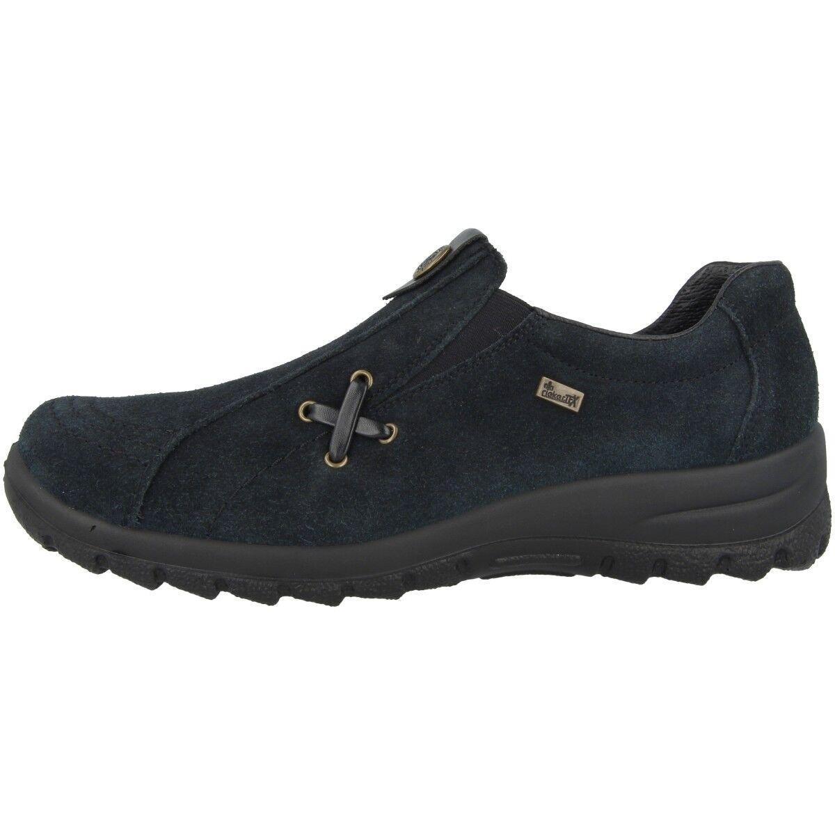 Rieker samtcalf-fino scarpe donna mocassini da Ginnastica Ginnastica Ginnastica Basse Blue l7171-14 fceed3