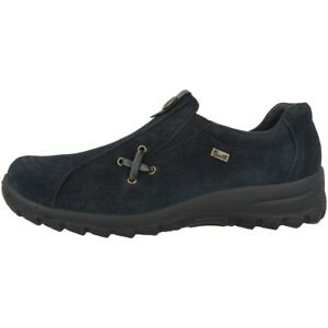 Zapatillas Zapatillas L7171 fino 14 Mujer Azul Zapatos Samtcalf Rieker PxTZqXIw