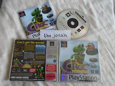 Croc Legend of the Gobbos PS1 (COMPLETE) Sony PlayStation rare platform platinum