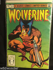 WOLVERINE #4 SIGNED CHRIS CLAREMONT 1982