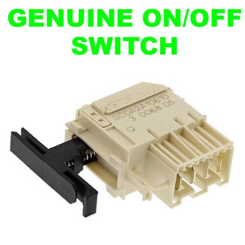 WHIRLPOOL Véritable machine à laver On Off Switch C00311780 481941029004