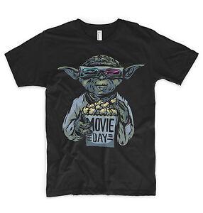 Initiative Yoda T Shirt Star Wars Han Solo Millennium Falcon Force R2d2 Bb8 Jedi Vader-afficher Le Titre D'origine