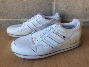 Adidas ZX 500 White Tennis Shoes Mens