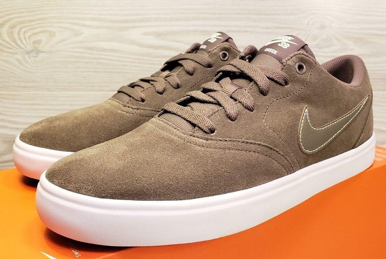 Rare Nike 843895-201 SB check Suede Moda 843895-201 Nike Solarsoft Skate talla 9 3db6bd