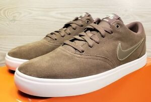 Details about *RARE* NIKE SB CHECK SUEDE SOLARSOFT SKATEBOARD FASHION 843895 201 Size 9