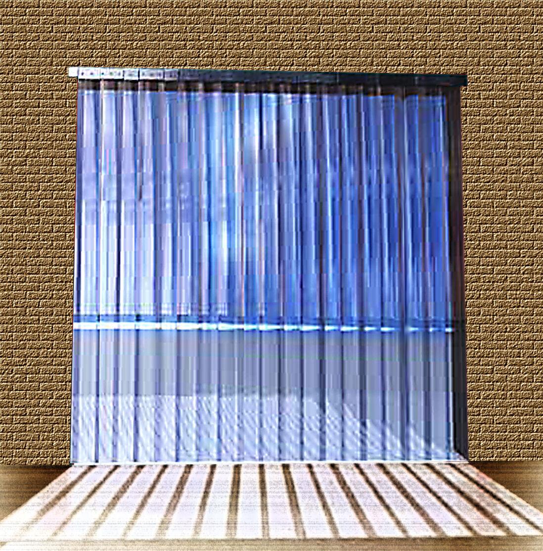 PVC Strip Curtain   Door Strip1,50mtr w x 2,75mtr long