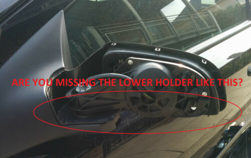 Vauxhall Opel Astra H MK5 Lower Bottom Wing Mirror Cover titulaire de deux côtés