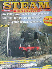 STEAM RAILWAY MAGAZINE JULY 1995 TAW VALLEY PACIFIC peterborough 150 LYNTON REVI