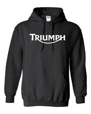 Triumph Motorcycle HOODIE - S to 5XL Harley Biker Sturgis