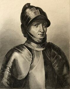 Charles-I-D-039-Orleans-1394-1565-Duke-of-039-Orleans-and-Milan-Drawing-L-Massard