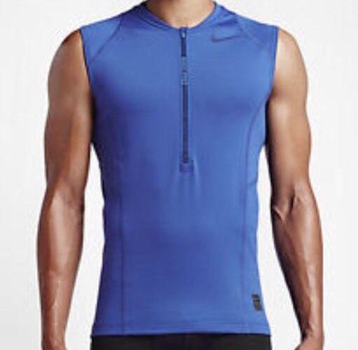 Nike Pro Hyperwarm Formazione Senza Maniche Top Taglia-small Nuova Con Etichetta