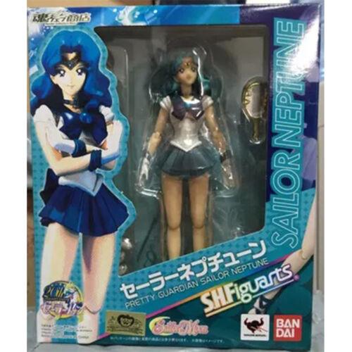 Pretty Guardian Sailor Neptune Figuarts Kaiou Michiru 6 Action Figure Figma Toy