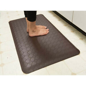 memory foam kitchen floor mat anti fatigue memory foam kitchen mat floor rug ebay 9139