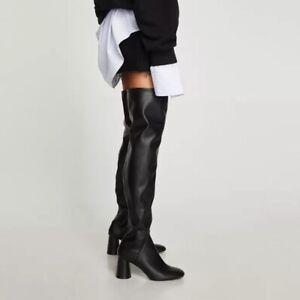 Zara Women OTK over the knee thigh high