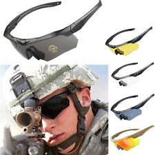 ESS CROSS military Goggles Ballistic Tactical Sunglasses with 5 Lens +Box