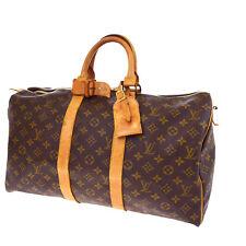 Auth LOUIS VUITTON Keepall 45 Travel Hand Bag Monogram Leather BN M41418 62Q652