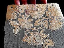 Incrustation vintage en dentelle pour lingerie fond de robe tulle brodé - 12264