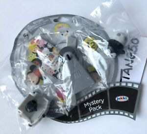Disney-Tsum-Tsum-Series-12-Mickey-Mouse-Plane-Crazy-Black-amp-Wht-Mystery-Pack-Bag