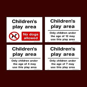 Children S Play Area No Dogs Allowed Park Age Limit