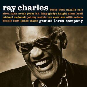 Ray-Charles-Genius-Loves-Company-10th-Anniversary-New-CD-Spain-Import