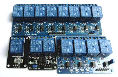 4-8 Channel Kanal  Relay Board Relais Module  1-2