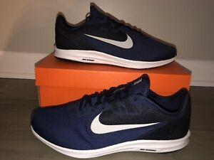 Nike-Downshifter-9-4E-Wide-Men-039-s-Size-10-5-11-13-AR4946-400-Navy-Running-Shoes