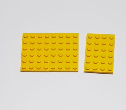 3x Lego® Classic Platte 4 x 6 mit Noppen 3032 gelb 303224 Star Wars 6 x 4 City