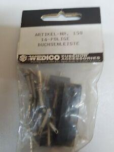 Wedico-158-Buchsenleiste-16-polig