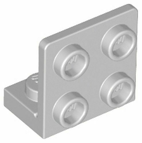 Lego 99207 Light Bluish Gray Bracket 1 x 2-2 x 2 Invert 100/% Genuine UK Seller